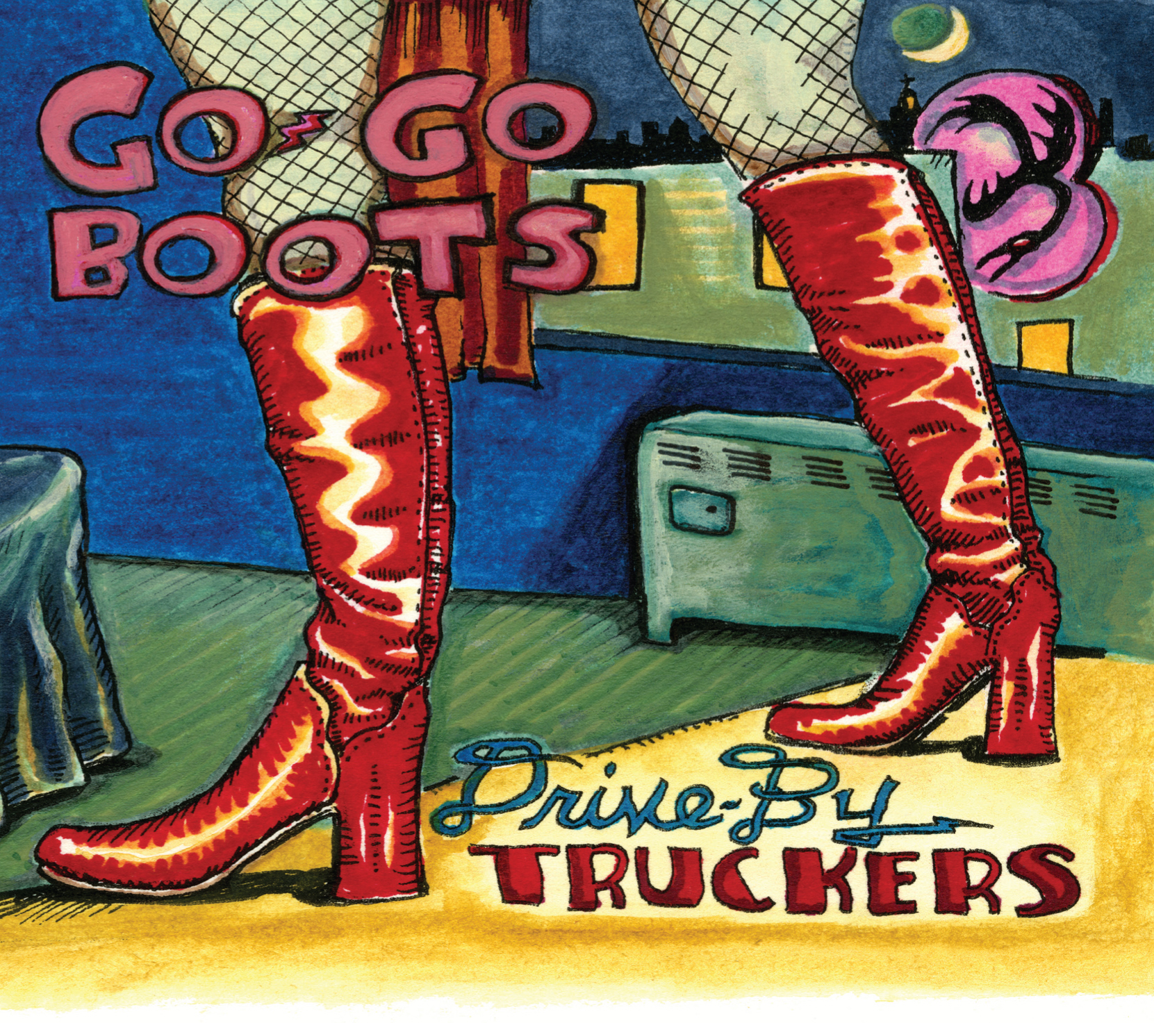 "Drive-By Truckers - ""Go Go Boots"""